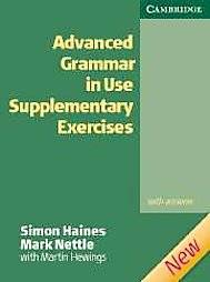 Advanced Grammar in Use 2nd edition Supplementary Exercises