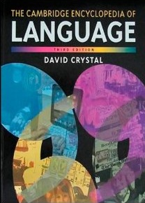 Cambridge Encyclopedia of the English Language, The 3rd edition