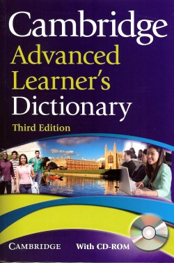 Cambridge Advanced Learner's Dictionary 3rd edition
