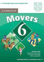Cambridge Young Learners English Tests 2nd Edition Movers 6