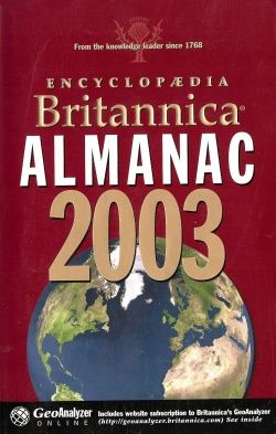 Encyclopedia Britannica Almanac 2003
