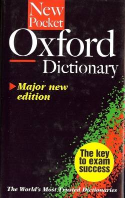 New Pocket Oxford Dictionary