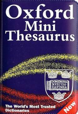Oxford Minireference Thesaurus 3rd edition